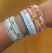 Bracelet Jewellery Hipanema Set x2