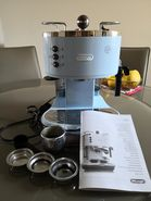 Delonghi Pump Expresso Coffee Machine Icona Vintage ECOV 311.GR
