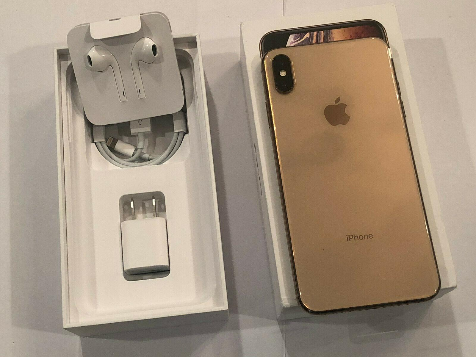 New Apple iPhone XS/Max 64/256/512GB Space Gray Silver Gold GSM Unlocked
